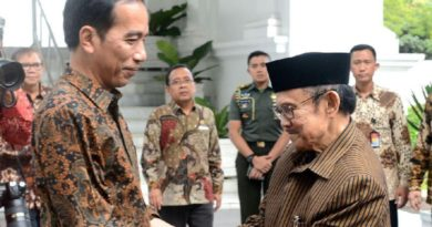 BJ Habibie Bertemu Presiden Jokowi