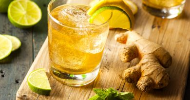 jahe dan air lemon