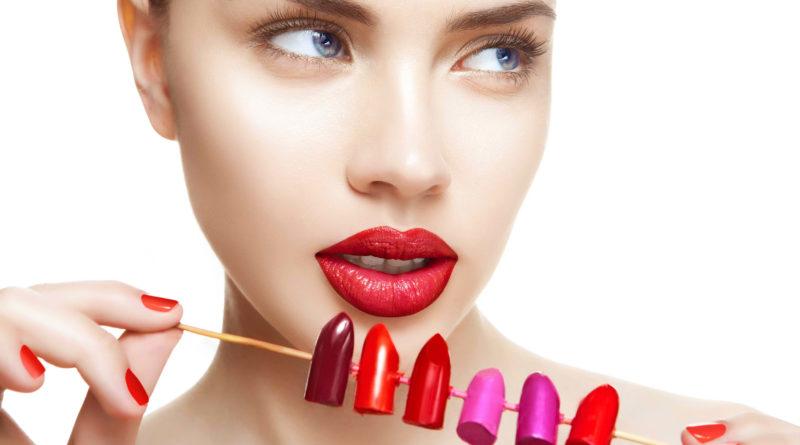 penggunaan lipstik