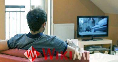 menonton televisi dalam waktu yang lama