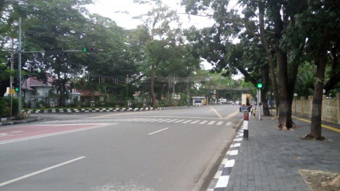 jalanan medan sepi