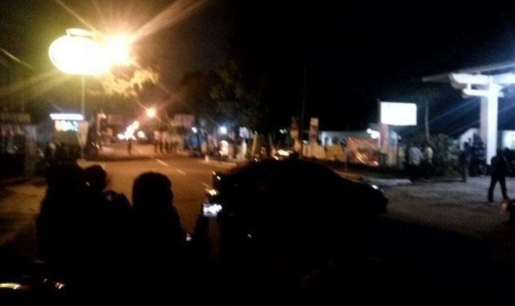 Breaking News : Baku Tembak Polisi di Kaliurang , Jalan Sementara Di tutup