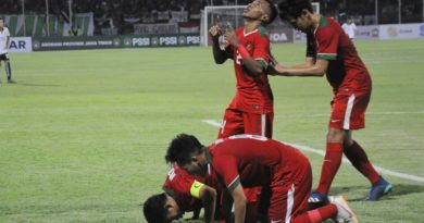 Timnas U-19 Unggul Melawan Laos