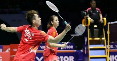 China Jamin Juara di Ganda Campuran BWF World Tour Finals 2018