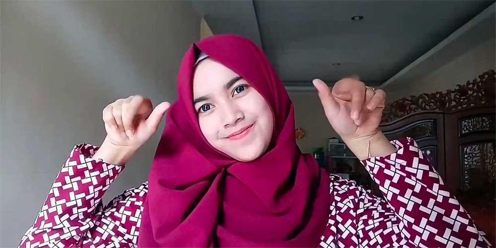 Tutorial Hijab Segi Empat Wikimedan Com