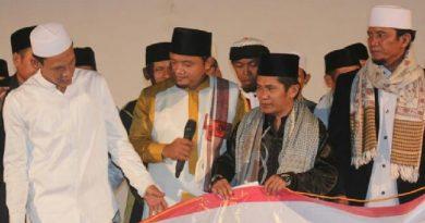 Berita : Dukung Jokowi-Ma'ruf, Kiai dan Santri di Bogor Barat Gelar Deklarasi