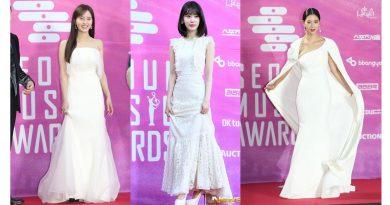 8 Inspirasi Dress Putih dari Seleb K-Pop di Ajang Seoul Music Awards 2019. Mana yang Paling Menarik?