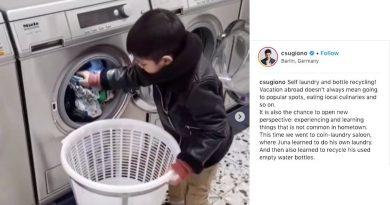Christian Sugiono Kenalkan Budaya Self Service ke Anak. Juna Bisa Laundry & Daur Ulang Sampah Sendiri