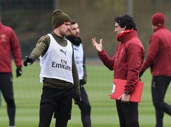 Sebelum Pilih Juventus, Ramsey Ternyata Sempat Tegang dengan Emery!