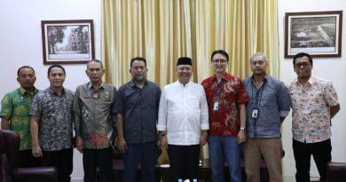 Wali Kota Terima Kunjungan Redaksi Harian Tribun Medan