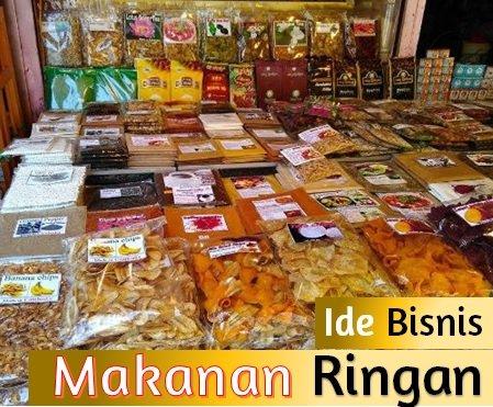 35 Ide Bisnis Makanan Ringan Khas Indonesia Unik dan Ala ...
